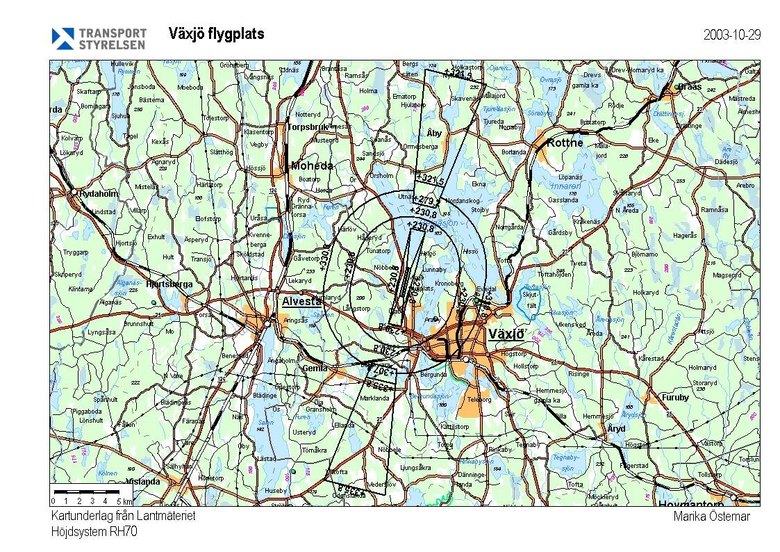 karta växjö Planeringsförutsättningar   Vaxjo.se karta växjö